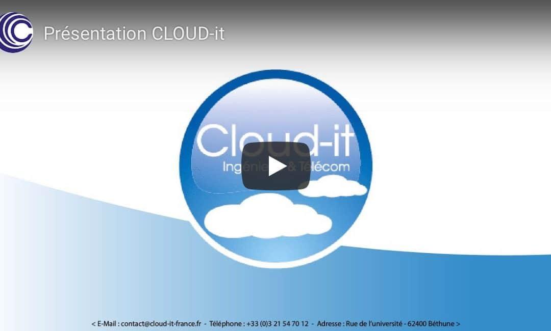 Vidéo de présentation de la société Cloud-It